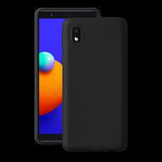 Чехол Deppa Gel Color Case для Samsung Galaxy A01 Core (2020) (Черный)