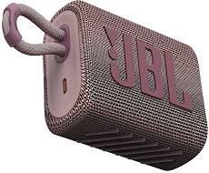 Портативная акустика JBL GO 3 (Розовая)