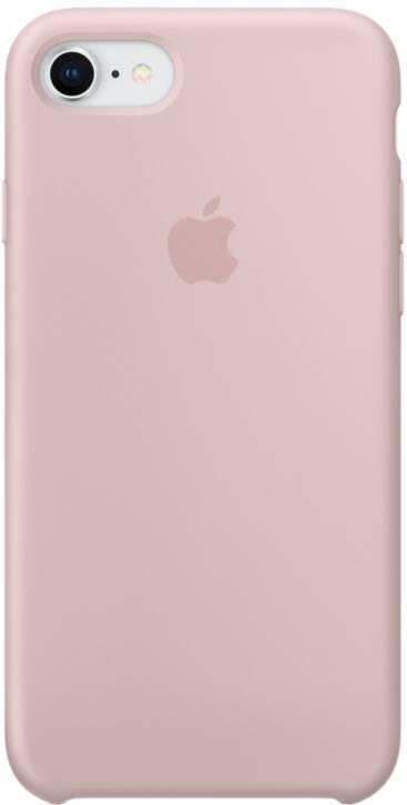 Чехол для Apple iPhone 7/8/SE 2020 Silicon Case Protect (Розовый песок)