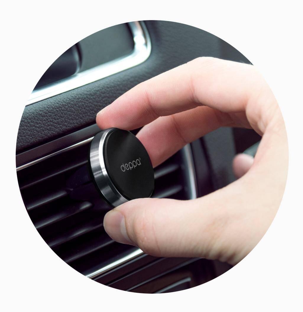 Автомобильный держатель Deppa Crab Mage mini для смартфонов магнитный