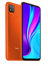 Телефон Xiaomi Redmi 9С 3/64Gb NFC (Оранжевый)