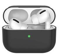 Чехол силиконовый для наушников Apple AirPods Pro (Серый)