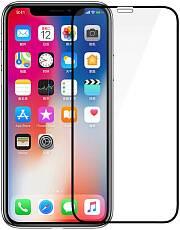 Защитное стекло для iPhone XR iSlim Glass 6D (С черной рамкой)