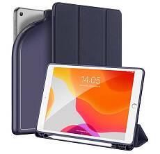 Чехол Dux ducis для iPad 10.2 Silicon, sort touch с отсеком для стилуса (Синий)