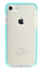 """Чехол Gurdini iPhone SE(2020)/8/7/6 4.7"""" Crystal Ice силикон противоударный (Мятный)"""