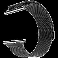 Ремешок Metalband для Apple Watch 38/40mm, миланский сетчатый (Серый космос)