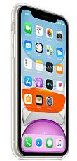 Чехол силиконовый для Apple iPhone 11 (Прозрачный)