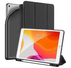 Чехол Dux ducis для iPad 10.2 Silicon, sort touch с отсеком для стилуса (Черный)