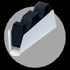 Зарядная станция DualSense на два геймпада ( CFI-ZDS)