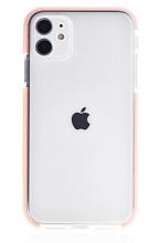 "Чехол Gurdini iPhone 11 6.1"" Crystal Ice силикон противоударный (Розовый)"