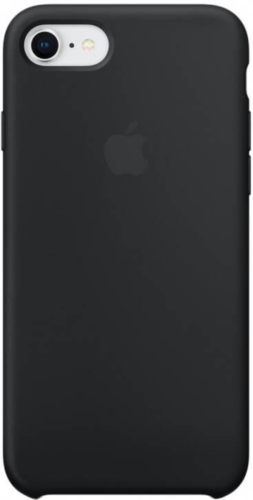 Чехол для Apple iPhone 7/8/SE 2020 Silicon Case Protect (Черный)