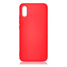 Чехол силиконовый Silicon Cover для Xiaomi Redmi 9a (Красный)