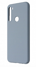 Чехол силиконовый Silicon Cover FULL для Xiaomi Note 8T (Серый)