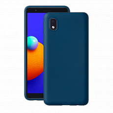 Чехол Deppa Gel Color Case для Samsung Galaxy A01 Core (2020) (Синий)