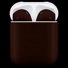 Беспроводные наушники Apple AirPods 2 Color (без беспроводной зарядки чехла) Шоколадный