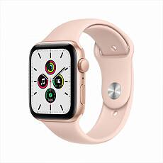 Часы Apple Watch SE GPS 40mm Aluminum Case with Sport Band золотистый/розовый песок MYDN2