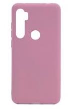 Чехол силиконовый Silicon Cover FULL для Xiaomi Note 8T (Розовый песок)