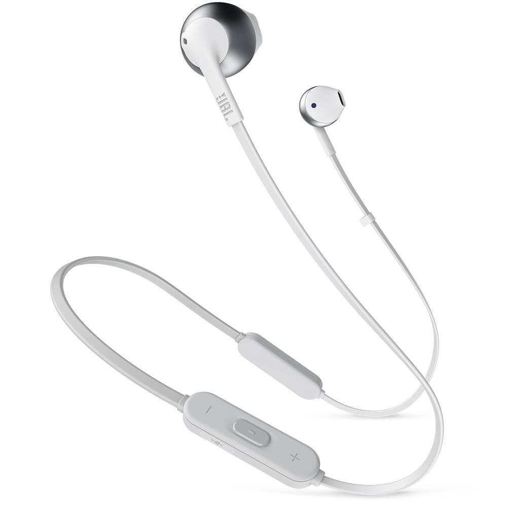 Bluetooth-наушники JBL T205BT (Серебристые)