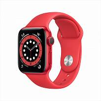 Часы Apple Watch Series 6 GPS 40mm Aluminum Case with Sport Band (PRODUCT)RED M00A3