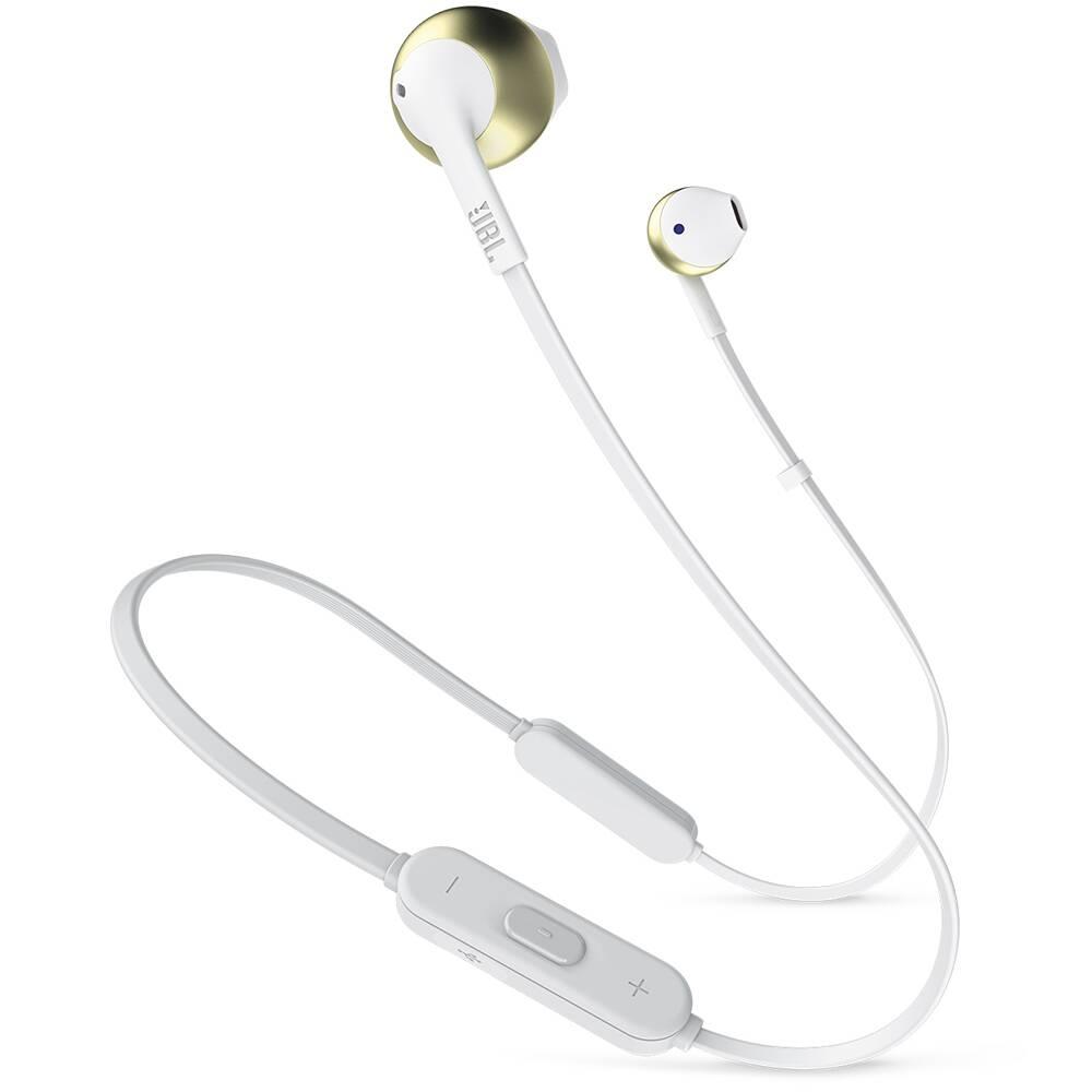 Bluetooth-наушники JBL T205BT (Золотые)