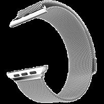 Ремешок Metalband для Apple Watch 38/40mm, миланский сетчатый (Серебристый)