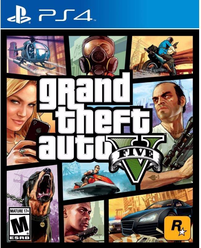 Игра для PlayStation 4 Grand Theft Auto V