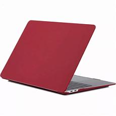 """Накладка i-Blason для MacBook Air 13"""" 2018/2019/2020 (Красный каркаде)"""